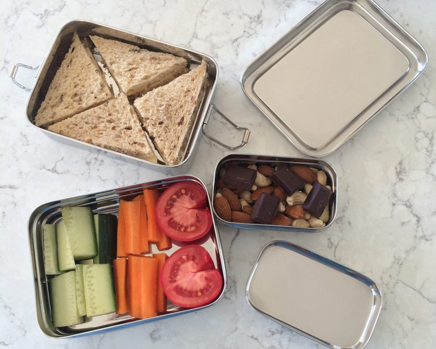 back to school ecofriendly healthy lunches