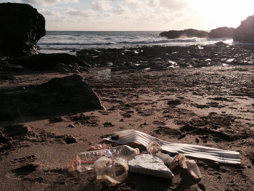 mattiscombe sands ocean plastic