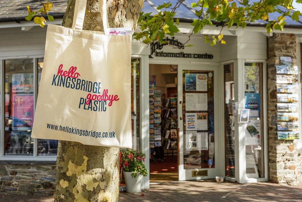 Kingsbridge Borrow-A-Bag reusable bag scheme