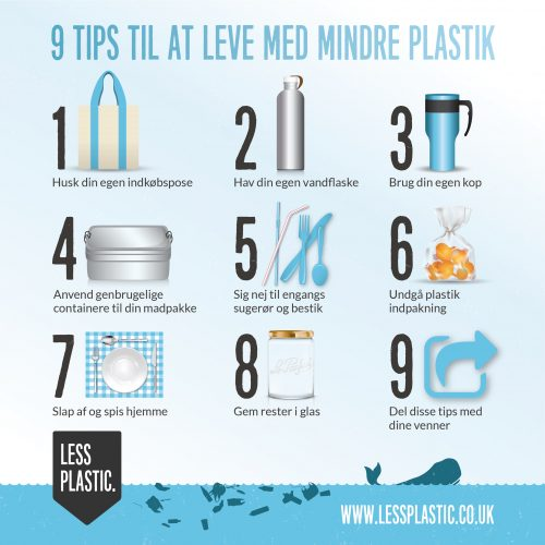 9 tips for living with less plastic in Danish