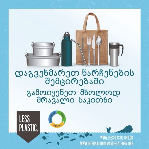 Global campaign to encourage bring your own reusables - Georgian