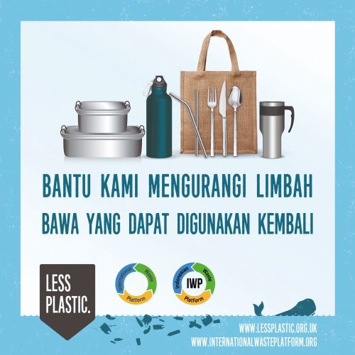 Global campaign to encourage bring your own reusables - Indonesia