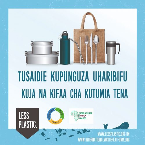 Global campaign to encourage bring your own reusables - Kenya Swahili