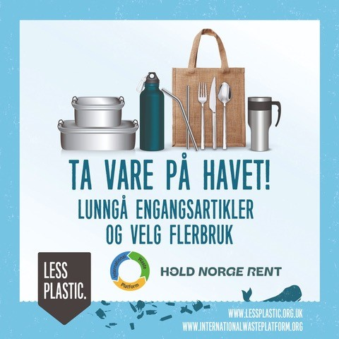 Global campaign to encourage bring your own reusables - Norway