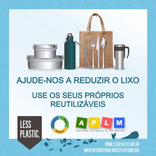 Global campaign to encourage bring your own reusables - Portugal
