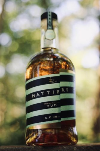 real world plastic game changer hattiers rum sustainable packaging